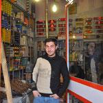 Der Verkäufer aus dem Teile-Laden