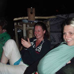Bierchen am Frosch mit Olli und Vanessa