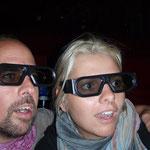Streik bedeutet auch: kein 3-D-Kinovergnügen wie vor ein paar Wochen