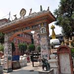 Überall Tempelanlagen