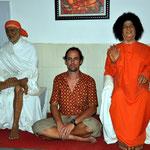 Meditation mit Sai Baba.