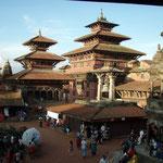 Sehr angenehm: Tempelanlagen sind autofrei !