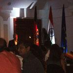 Das deutsche Honoralkonsulat hat nach Panjim geladen...