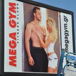 So macht man Werbung für ein Fitness-Center!