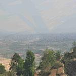 Kathmandu - im Smog