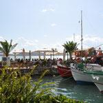 Im Hafen von Saranda