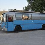 In Kavala kurz vor der Weiterfahrt