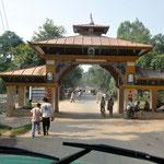 Grenzübergang Nepalgunj