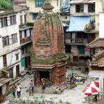 Leider vefallen viele alte Tempelanlagen.