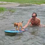 Ford lernt surfen!