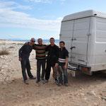 3 glückliche Albaner