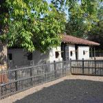 Gandhis Hütte