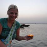 Varanasi - eine Gangesfahrt zum Sonnenaufgang