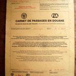 So sieht ein Carnet de Passage aus