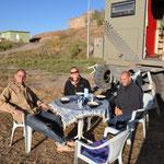 Pudding essen mit Anja und Chris