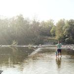 Zu Ostern auf dem Wasser gehen