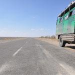 Die einzige Straße zwischen der Grenze und Quetta