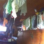 Noch wird im Frosch die Wäsche getrocknet....vielleicht ja bald in einem Häuschen? :-)