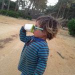 Sonnenbrillen-Fetisch-Gen: erfolgreich vererbt!