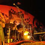 Jeden Abend spielt eine Band aus Bangalore, die Jungs fahren natürlich auch Bullet !
