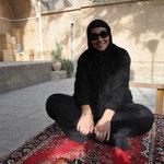 Unser erster iranischer Tee mit Rosenwasser