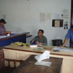 Formulare ausfüllen in Kathmandu