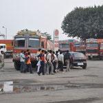 Der Unfall auf der Tankstelle
