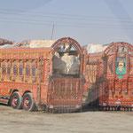 Pakistanische LKW Kunstwerke...