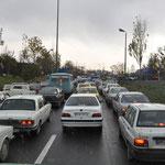dichter Verkehr
