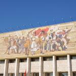 Sozialistischer Realismus am Skanderbeg Platz