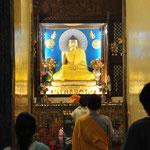 Meditation im Tempel