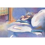 Sleeping Model Study -one