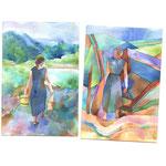 Landscape Studies from Pushkin Exhibition