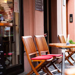 Cafe Stivale / Mainz / Stühle geschliffen geölt