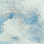 """Wolke 4"" Aquarell 29,5/21cm   (Kartenmotiv)"