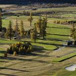 Golfplatz in Samedan (Foto: Graubünden Ferien/Andrea Badrutt