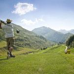 Golfen in Sedrun (Foto: Graubünden Ferien)