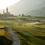 Golfen in Sagogn (Foto: Graubünden Ferien)