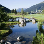 Golfen in Davos (Foto: Graubünden Ferien)