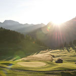 Golfen in Arosa (Foto: Graubünden Ferien/Alfonso Smith)