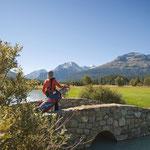 Golfen in Samedan (Foto: Graubünden Ferien)