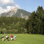 Golfen in Alvaneu (Foto: Graubünden Ferien)