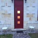 Pose porte d'entrée alu rouge bordeaux à Bègles