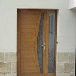 Pose porte d'entrée à Bouliac