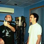 Colocando la microfonía