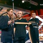 En la tele con Pablo Motos y Dani Martín