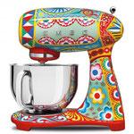 SMEG Küchenmaschine `Dolce & Cabbana Edition`