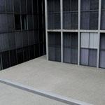 Tiefhof - die geplante Begrünung wartet auf Realisierung