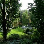 Garten auf überbauter Tiefgarage