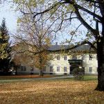 Parkteil Herrenhaus nach Rodung der Kleingehölze und Freistellung der Sichtachse